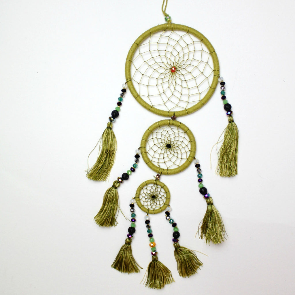 Olive Whimsical Dream Catcher