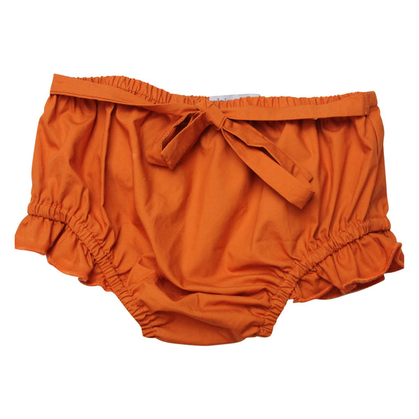 Pumpkin Bow Bloomers