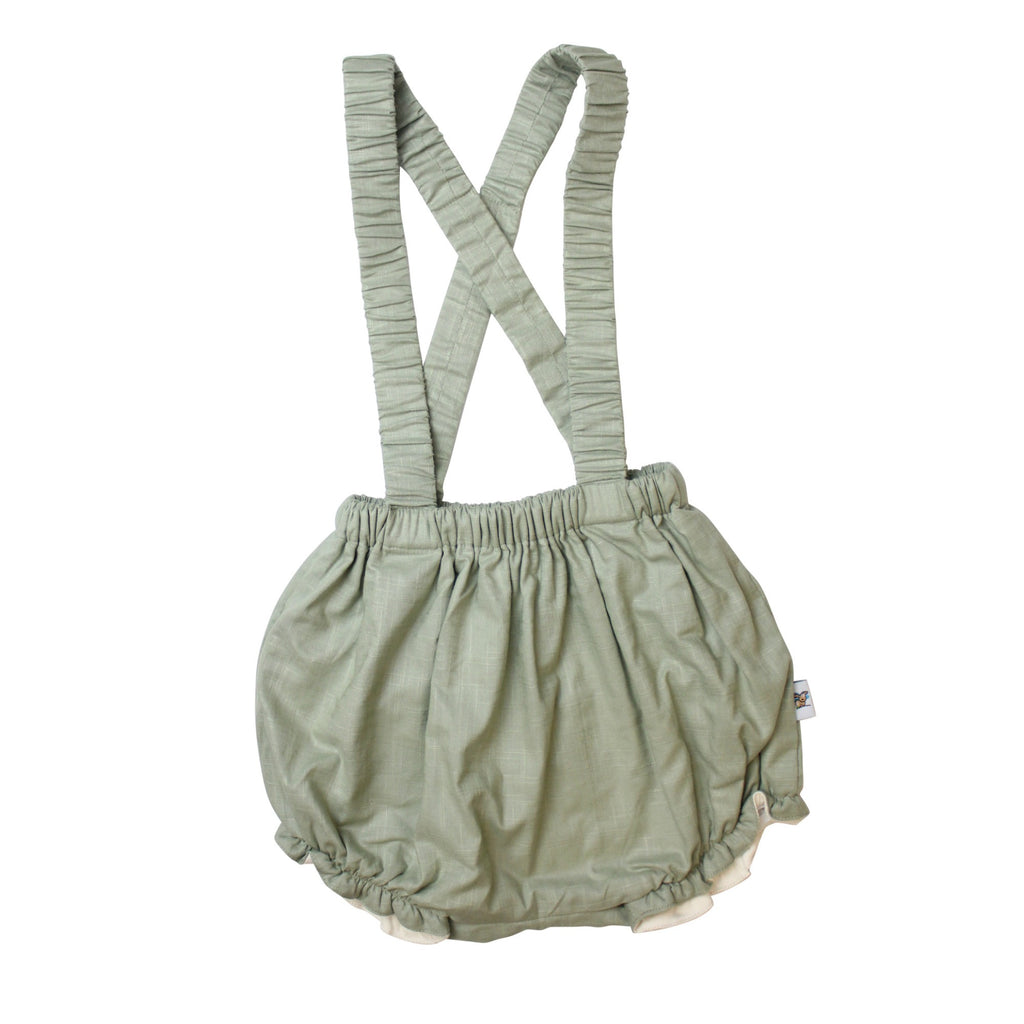 Spearmint Overall Bloomers