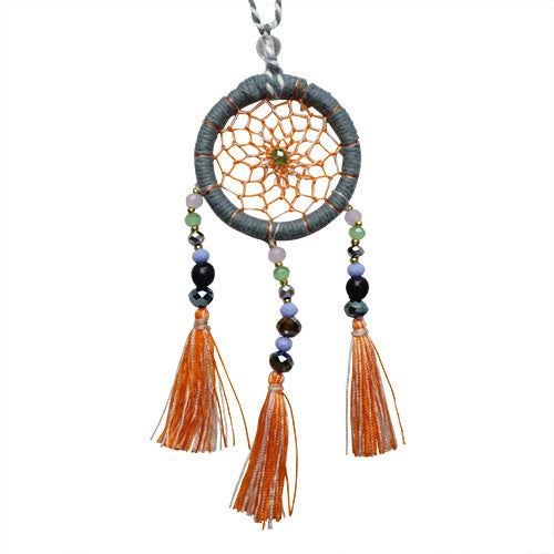 Storm Dream Catcher Necklace