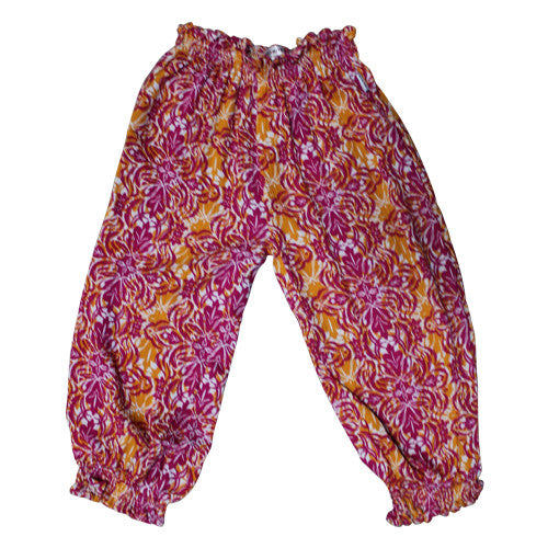 Tahitian Sunrise Slouch Pants