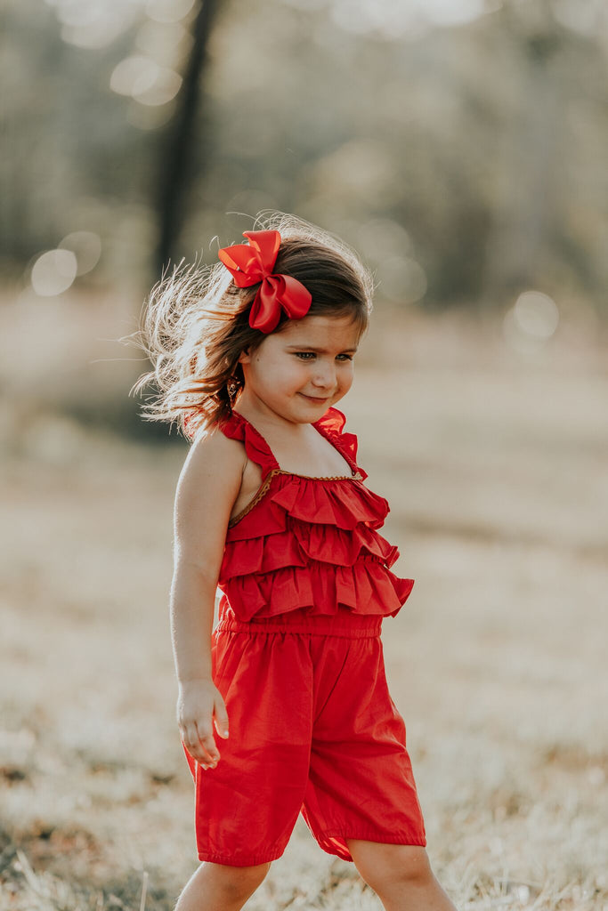 Scarlett Angel Pinafore Jumpsuit