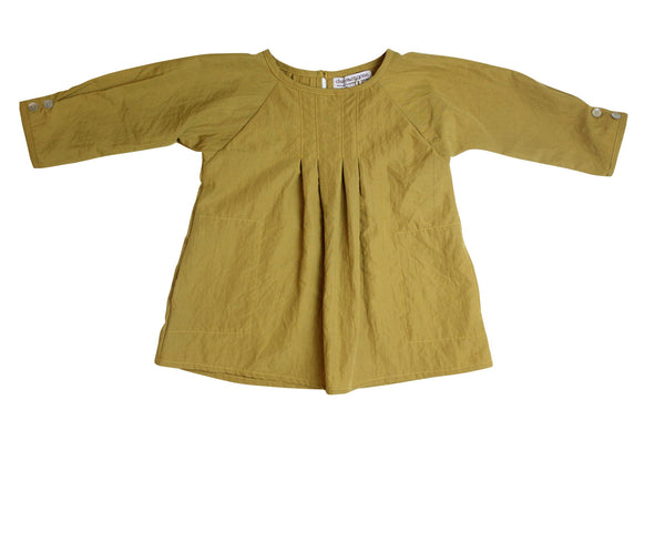 Golden Pleat Roundneck