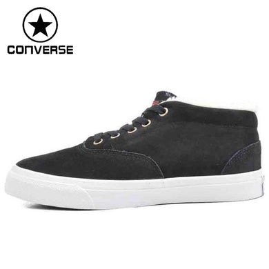 Original Converse Unisex Skateboarding Shoes Leather Sneakers