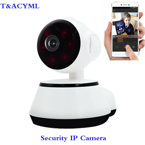 Robot Security Camera 720P WIFI IP HD video Home Security Surveillance 360 Night Vision