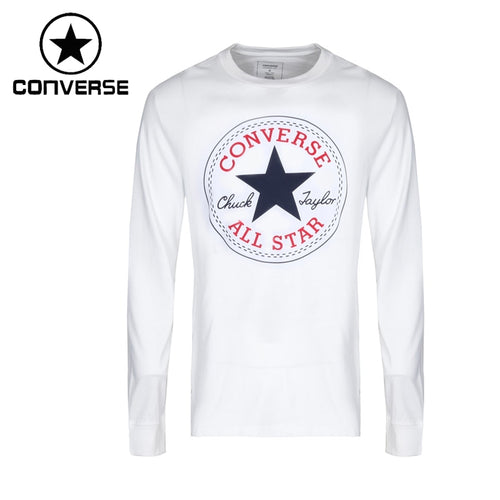 Original New Arrival  Converse  Men's  T-shirts  Long sleeve Sportswear