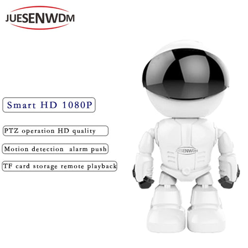 JUESENWDM HD Wireless yoosee IP Camera Smart Robot