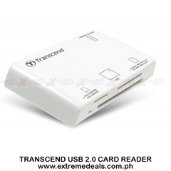 Transcend USB 2.0 Card Reader RDP8