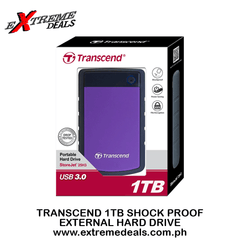 Transcend 1TB Shock Proof External Hard Drive