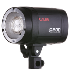 CALER DIGITAL FLASH UNIT HEAD E200