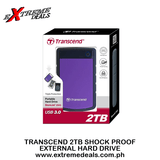 Transcend 2TB Shock Proof External Hard Drive