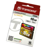 Transcend 16gb Compact Flash CF card 1000x