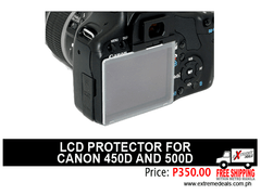 JJC Canon 450D/500D LCD Protector