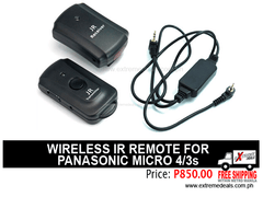 JJC Wireless IR Remote for Panasonic Micro 4/3s