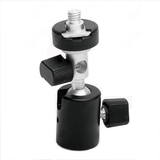 Umbrella and Flash Bracket Ball Head Type