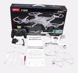DFD F183 Quadcopter with 6 Axis Gyro (Supports FPV Camera)
