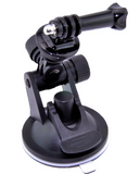 Mini Suction Cup for GoPro with Tripod Mount and Screw