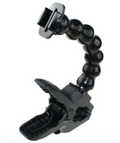 Jaw Flex Clamp with Adjustable Gooseneck for GoPro