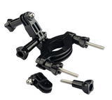 Motorcycle/ Roll bar Mount with 3way pivot arm for GoPro