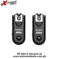 Yongnuo RF-603ii Flash Trigger Transceiver