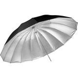 Parabolic Umbrella 75-inch Black Silver