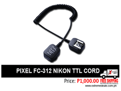 Pixel TTL Cord for Nikon