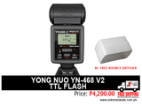 Yongnuo YN468V2 TTL Flash