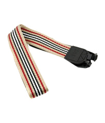 RED Black Woven Fabrick Neck Strap