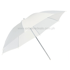 White Translucent Umbrella 45-inches (Shoot Through)