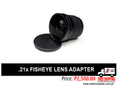 .21x Fisheye conversion lens