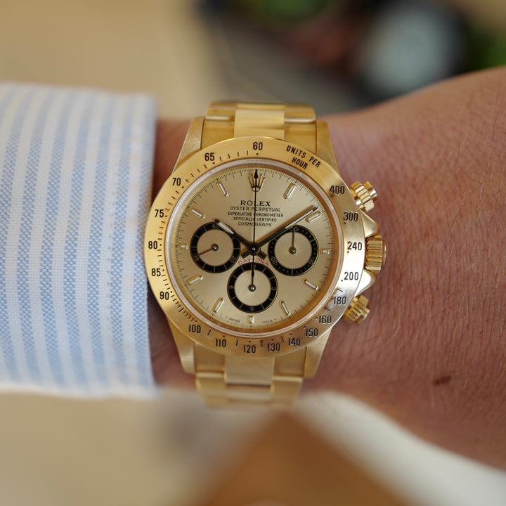 Featured Watch: NOS Rolex Zenith Daytona, ref. 16528