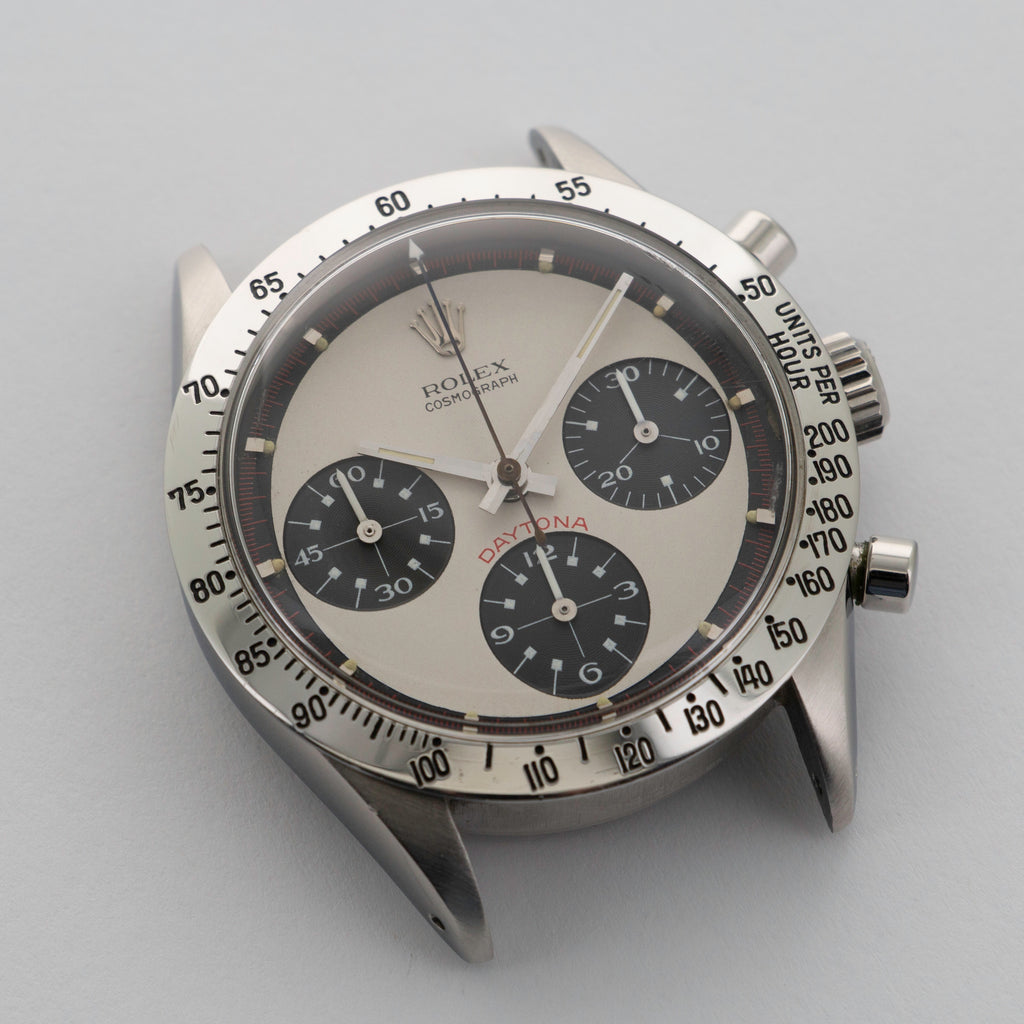 Rolex Paul Newman Daytona, ref. 6239 close up dial