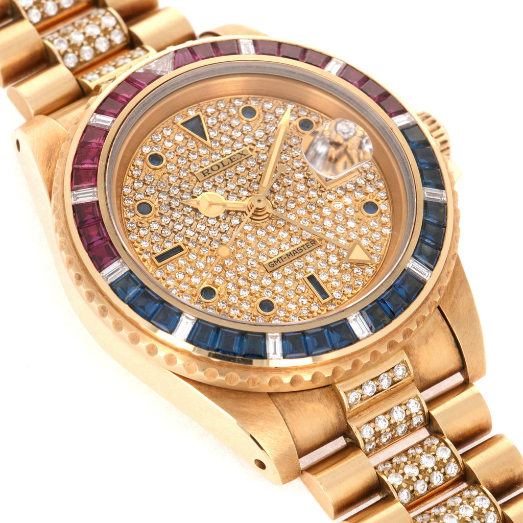 Rolex Sapphire and Ruby GMT-Master Ref. 16758