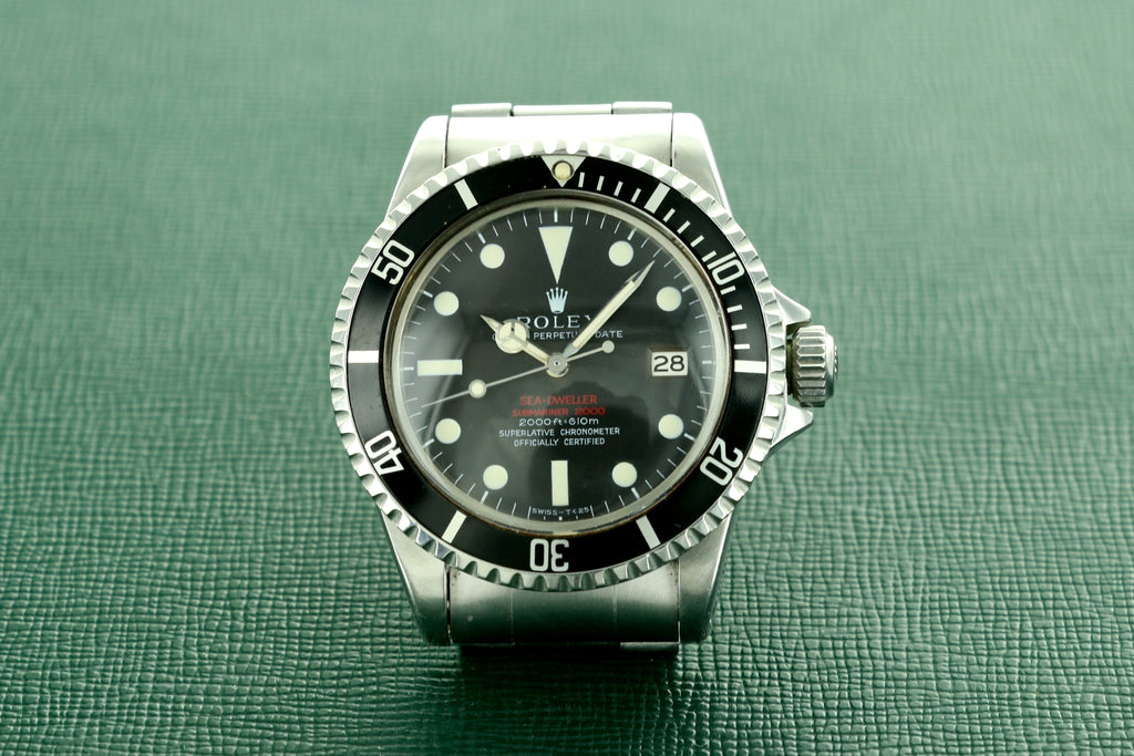 "Rolex ""Double Red"" Sea-Dweller, ref. 1665"
