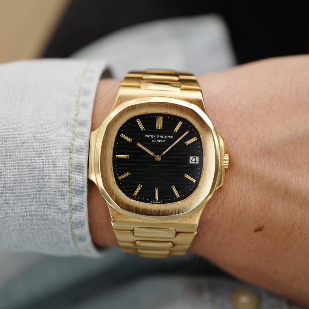 Patek Philippe Jumbo Nautilus 3700 Yellow Gold