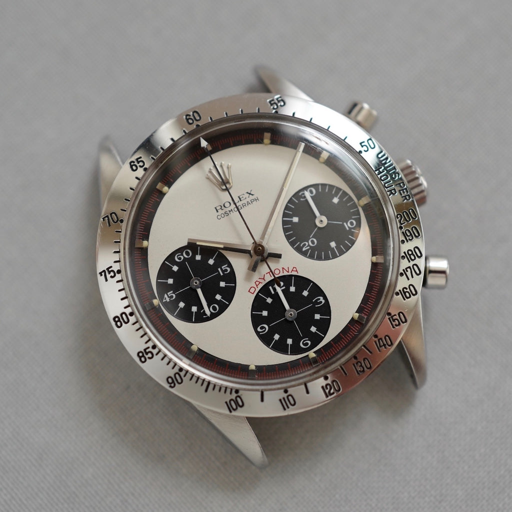 Rolex Cream Tri-Color Exotic Dial Daytona, ref. 6329