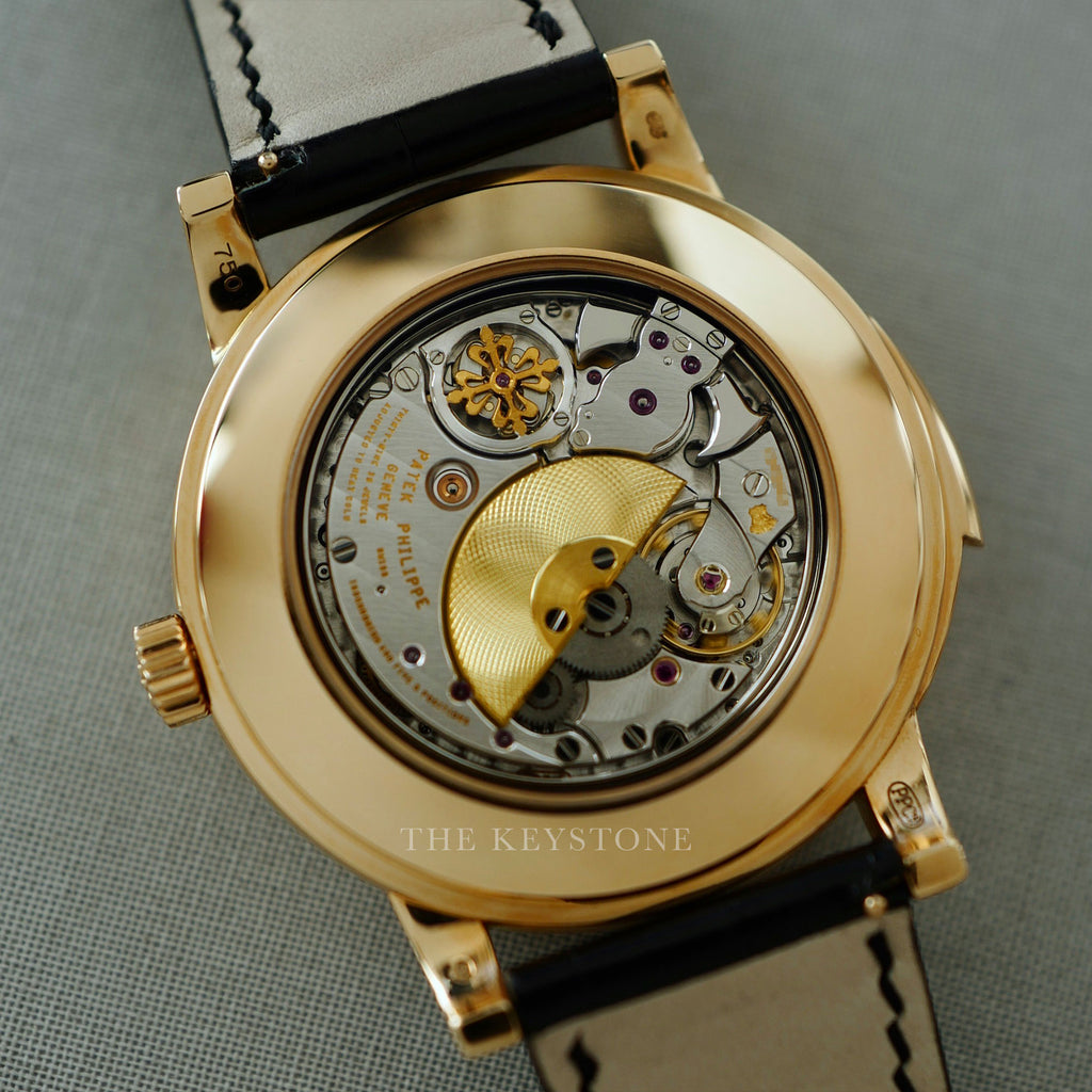 Patek Philippe 5074 watch with Caliber R 27 Q Minute Repeater with Cathedral Gongs