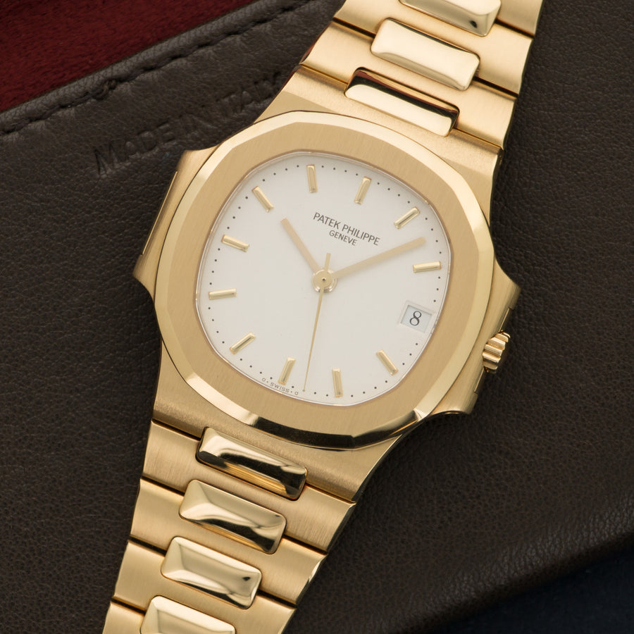 Patek Philippe Yellow Gold Nautilus Watch Ref. 3800