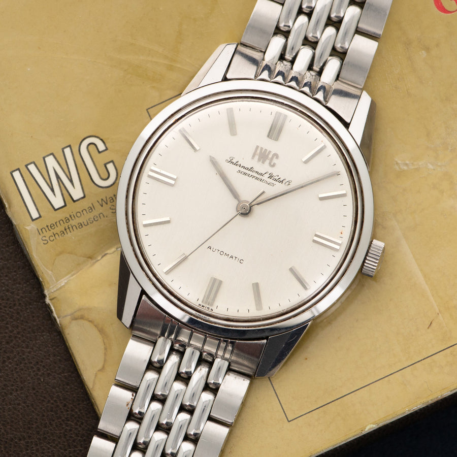 IWC Automatic Gay Freres Bracelet Watch with Original Papers