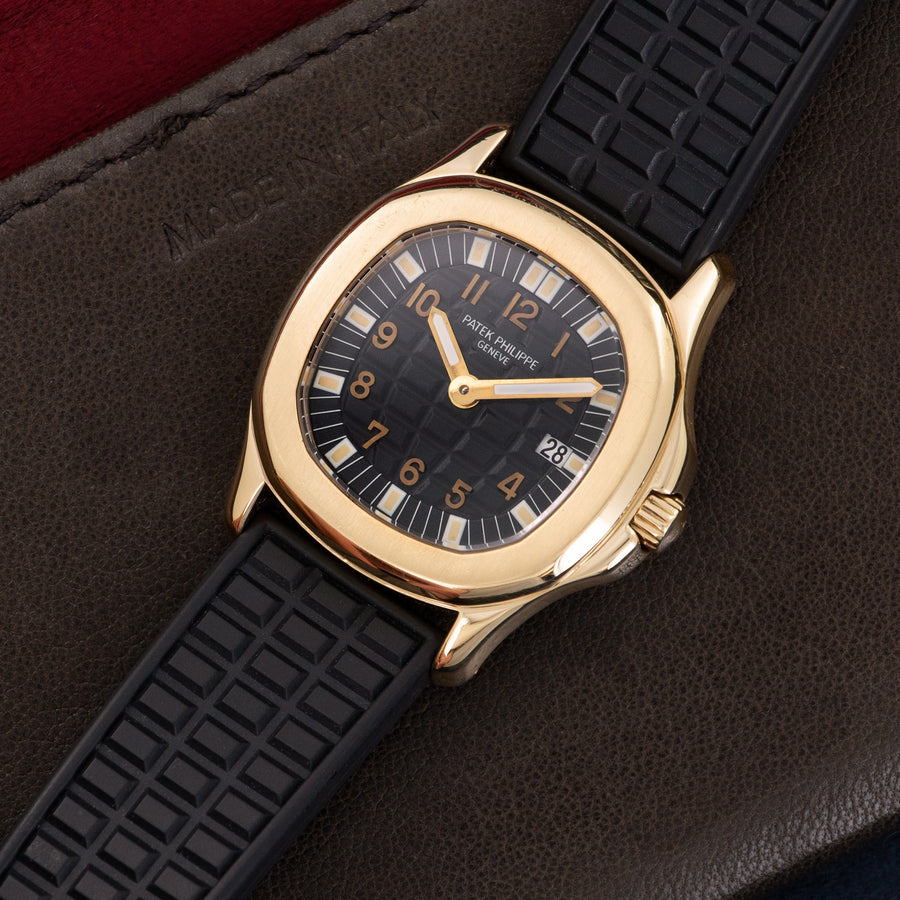 Patek Philippe Yellow Gold Aquanaut Watch
