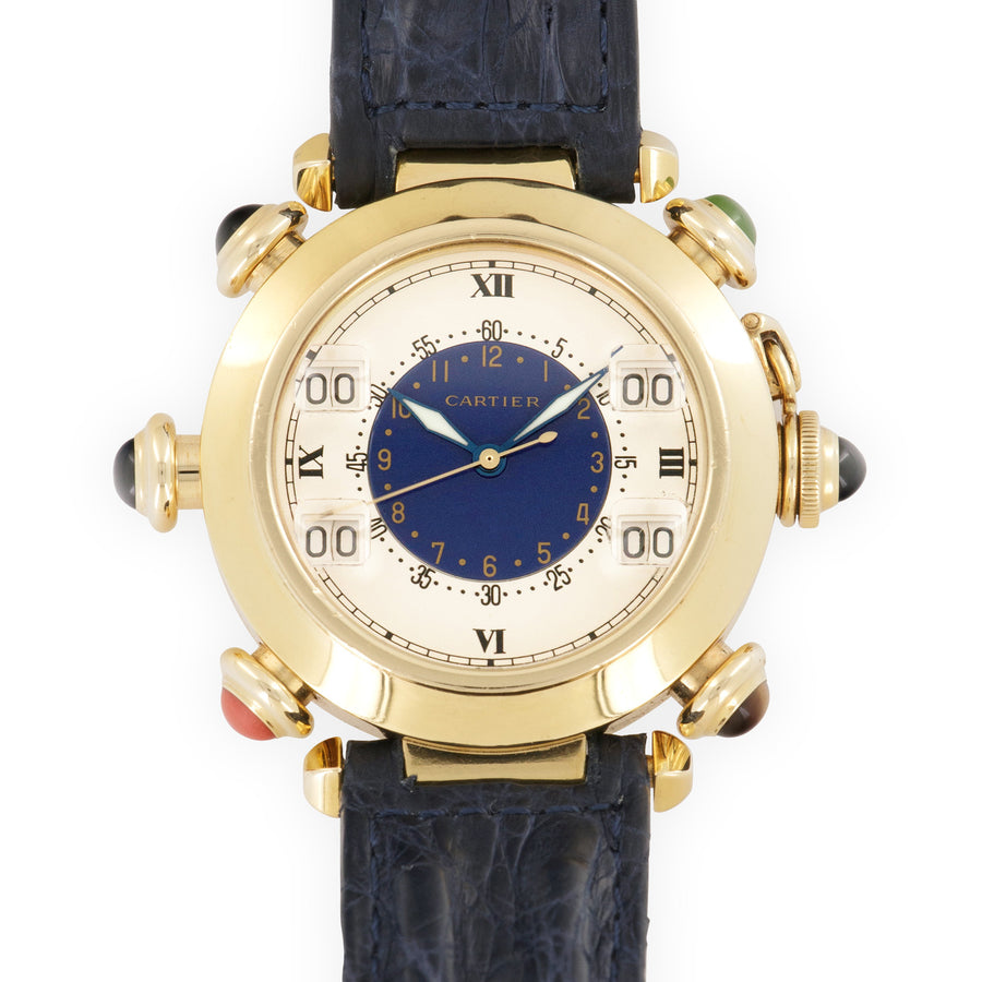 Cartier Yellow Gold Pasha Golf Automatic Watch