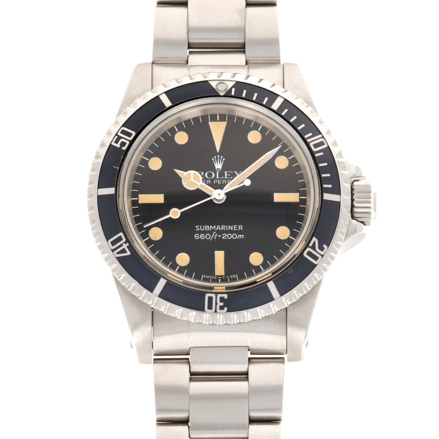 Rolex Submariner Maxi Dial Watch Ref. 5513