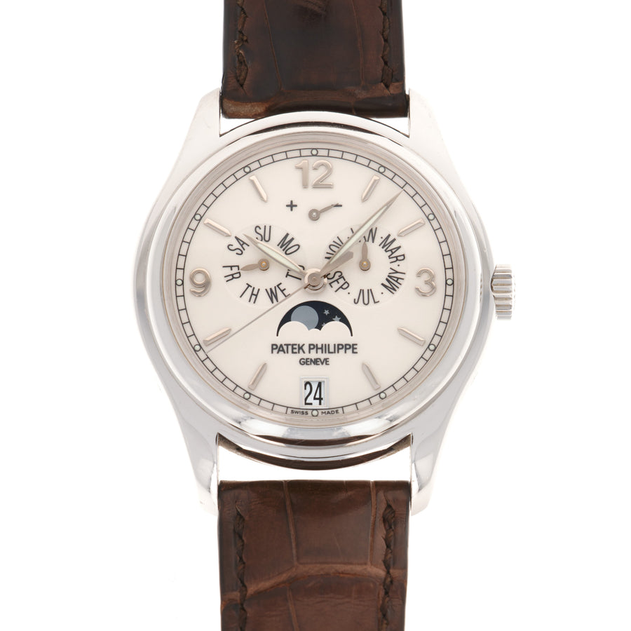Patek Philippe White Gold Annual Calendar Watch Ref. 5146