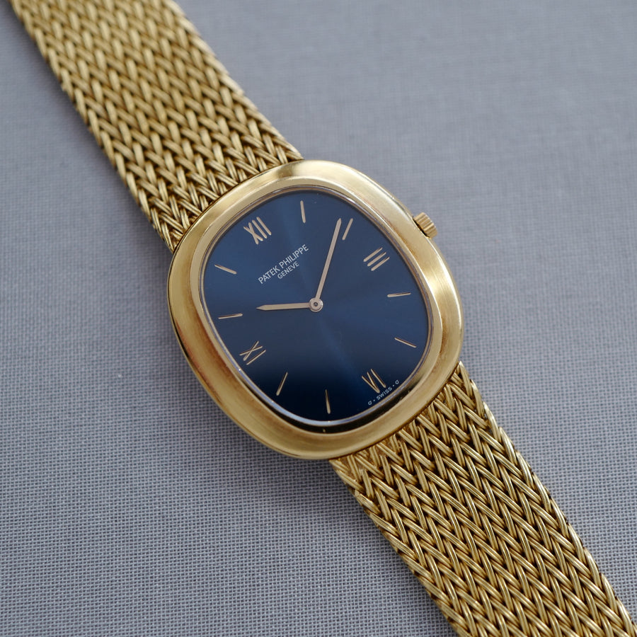 Patek Philippe Yellow Gold Ellipse Automatic Watch, Ref. 3589