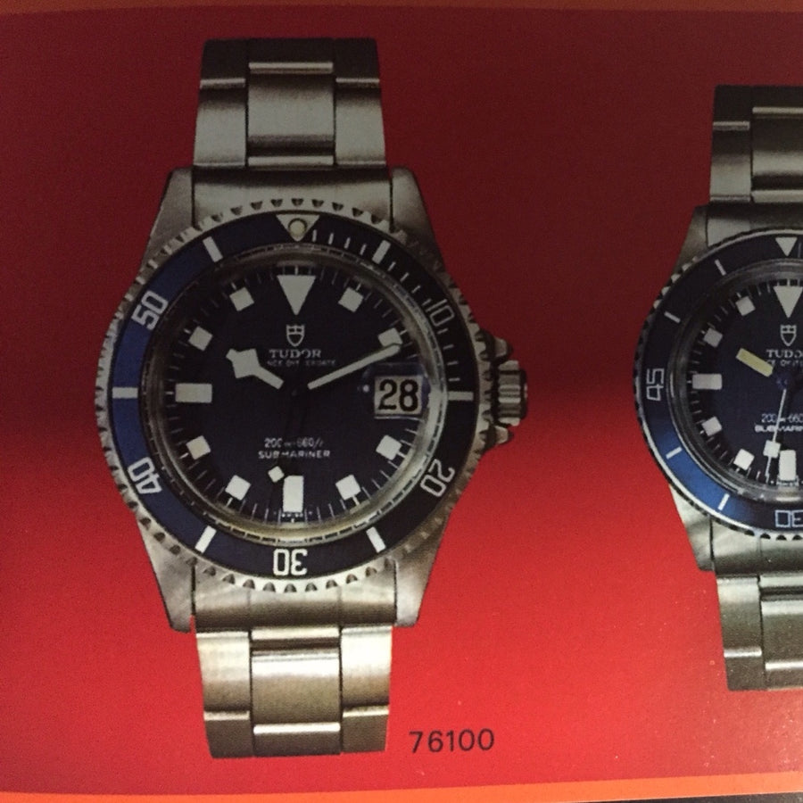 Tudor Submariner Snowflake Watch Ref. 76100