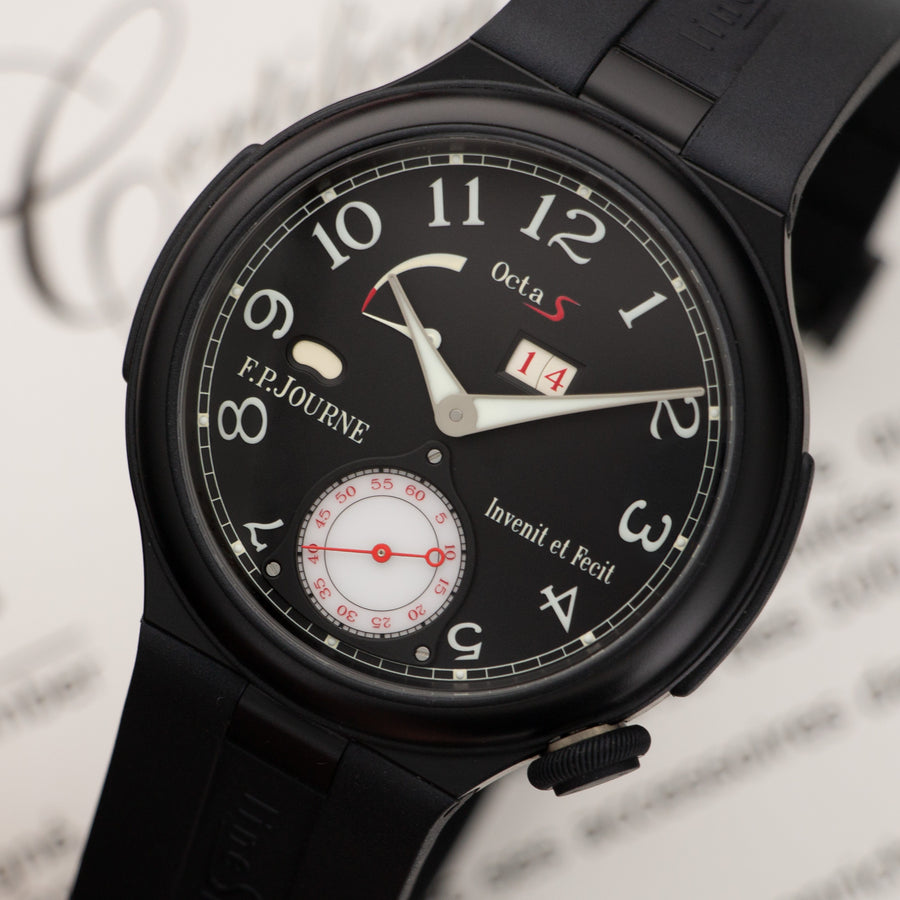 F.P. Journe Octa Sport S Indy 500 Watch, with Original Box and Papers