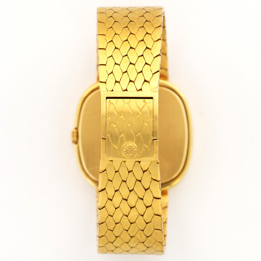 Patek Philippe Yellow Gold Automatic Bracelet Watch Ref. 3604