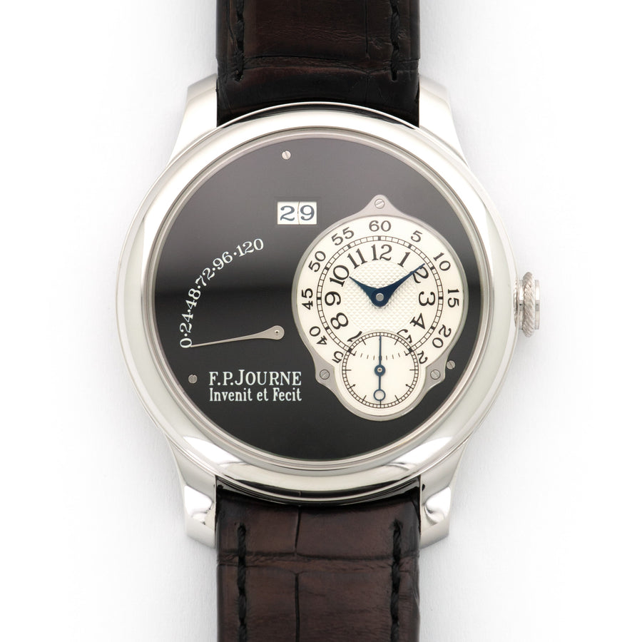 F.P. Journe Platinum Octa Auto Reserve de Marche Black Label Watch