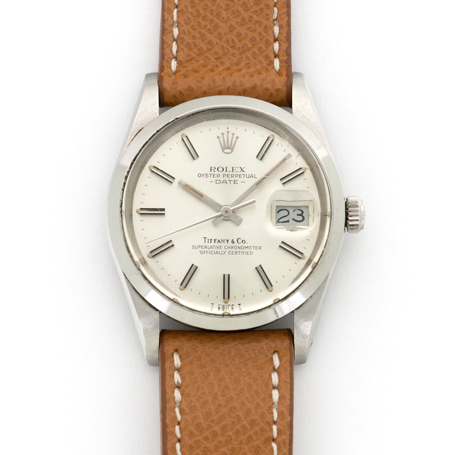 Rolex Oyster Perpetual Date Ref. 15000, Retailed by Tiffany & Co.