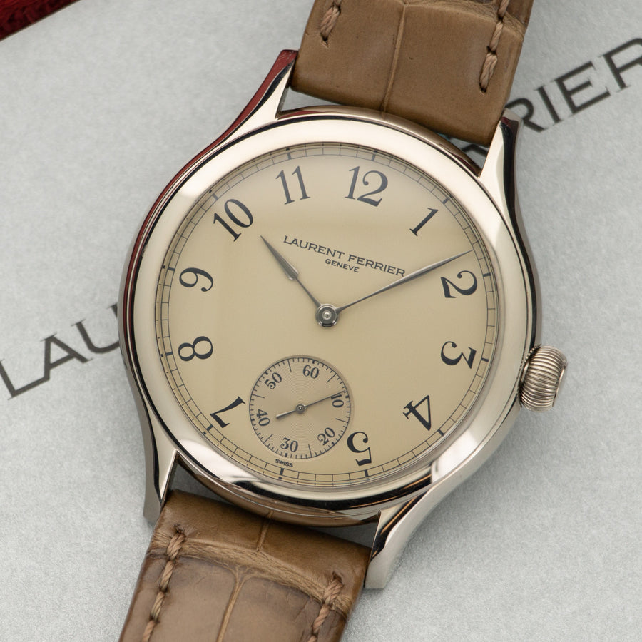 Laurent Ferrier White Gold Galet Micro-Rotor Watch Ref. FBN229.01